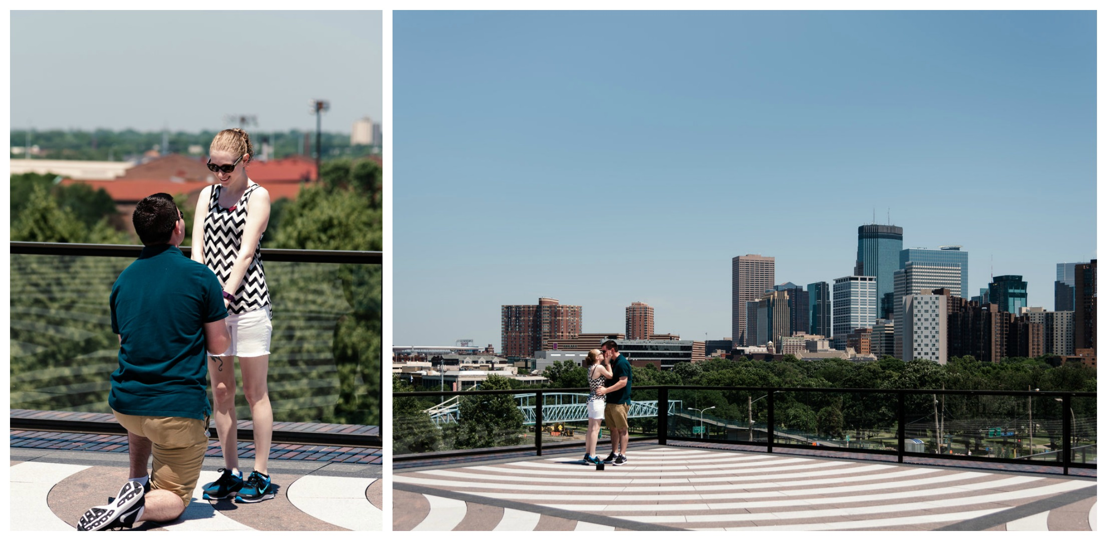 Walker Art Center Surprise Proposal - Skyline Mini Golf Proposal - Minneapolis Proposal Photographer.jpg