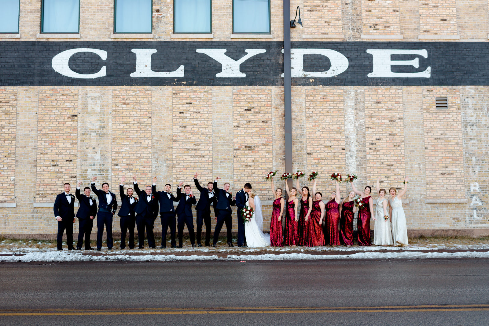 Clyde Iron Works Wedding - Duluth MN Wedding Photographer