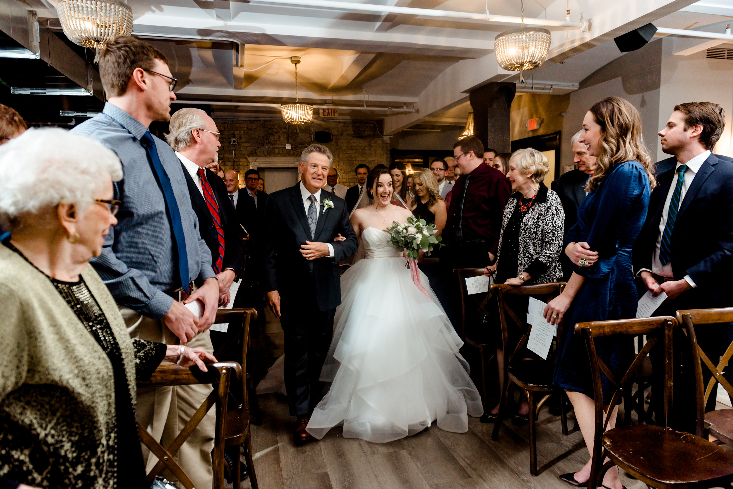 Minneapolis Night Wedding at Lumber Exchange Event Center - Best Twin Cities Wedding Photos
