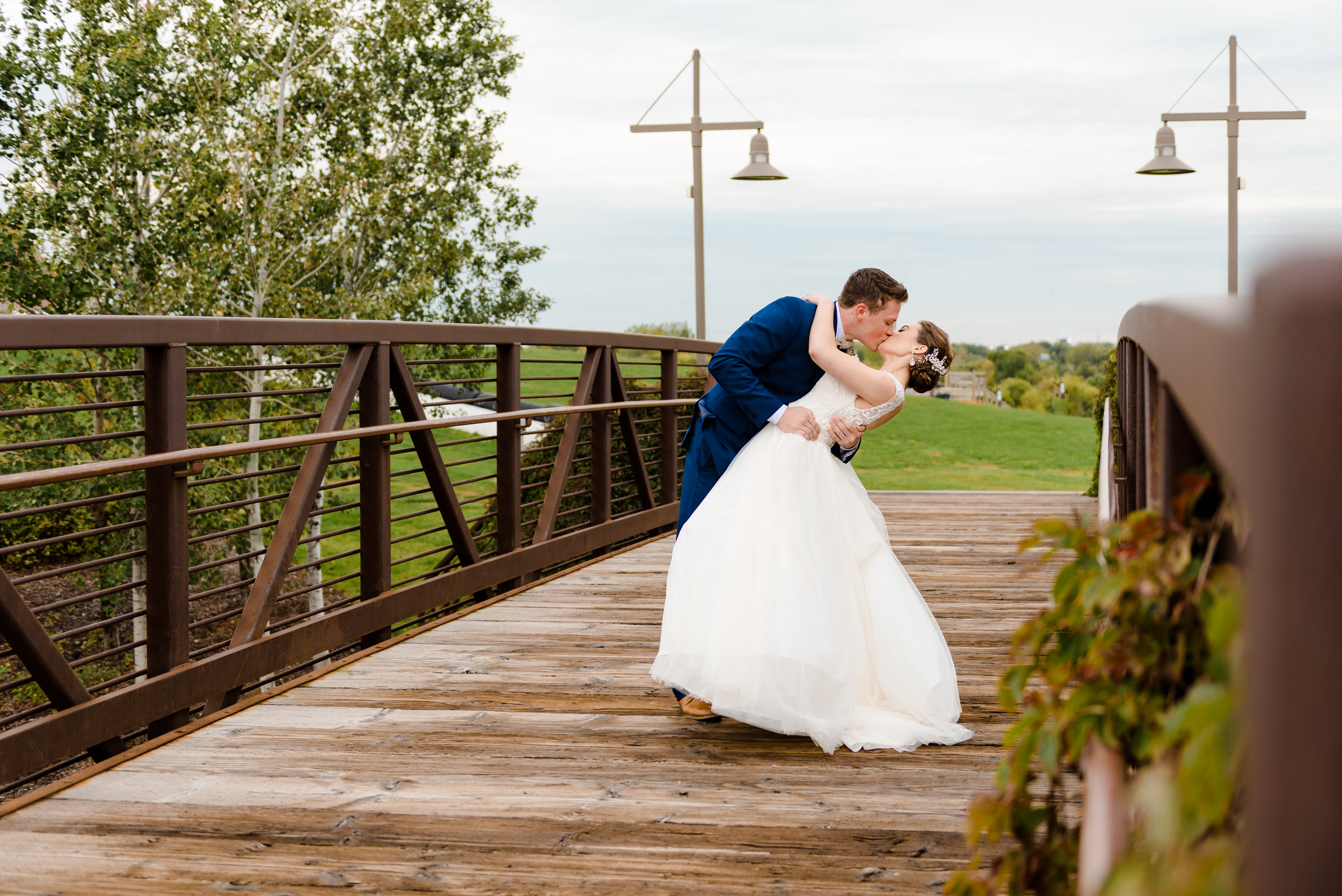fall chalet wedding - elm creek chalet