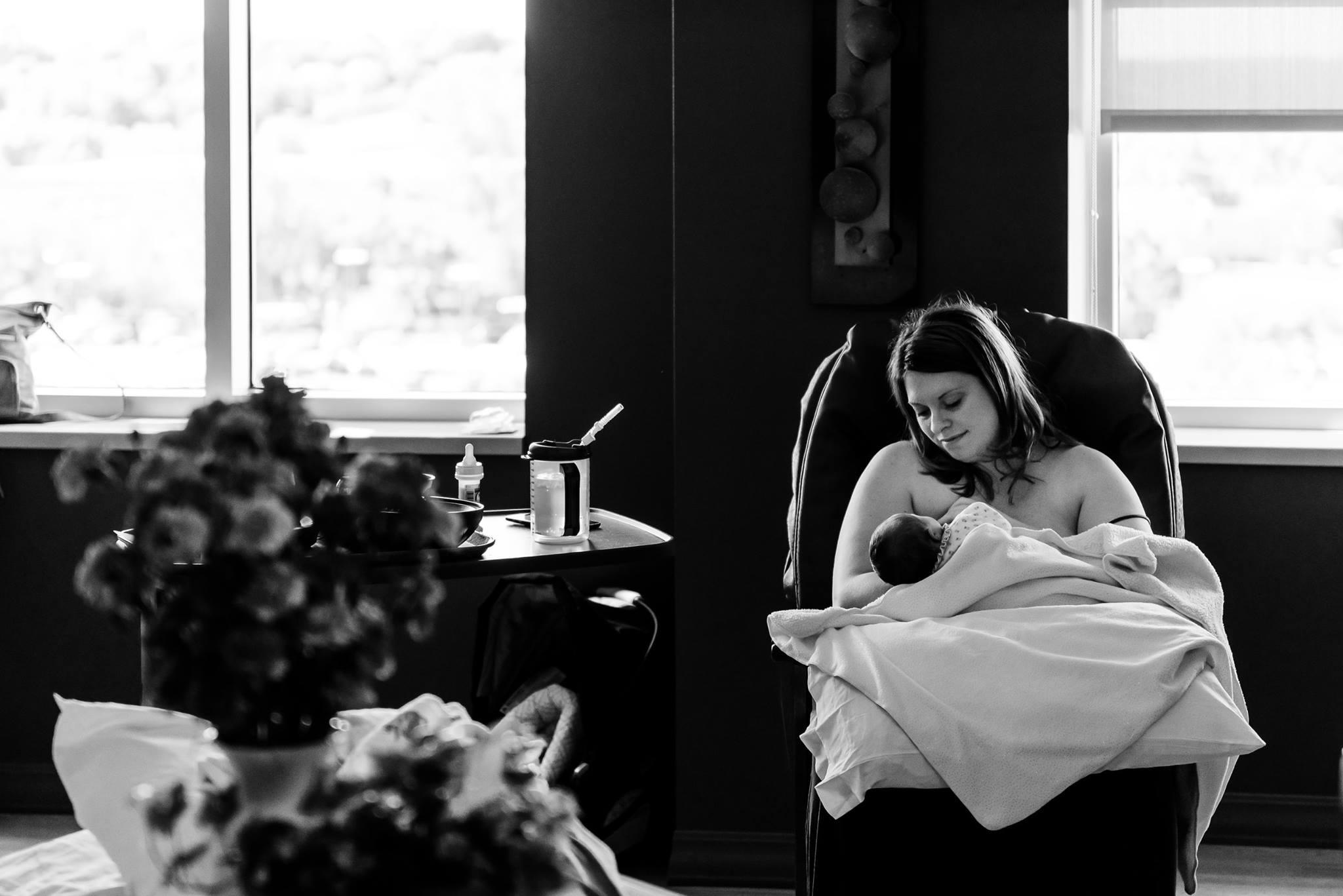Ridgeview Medical Center Birth Photographer - Waconia MN Birth Photographer