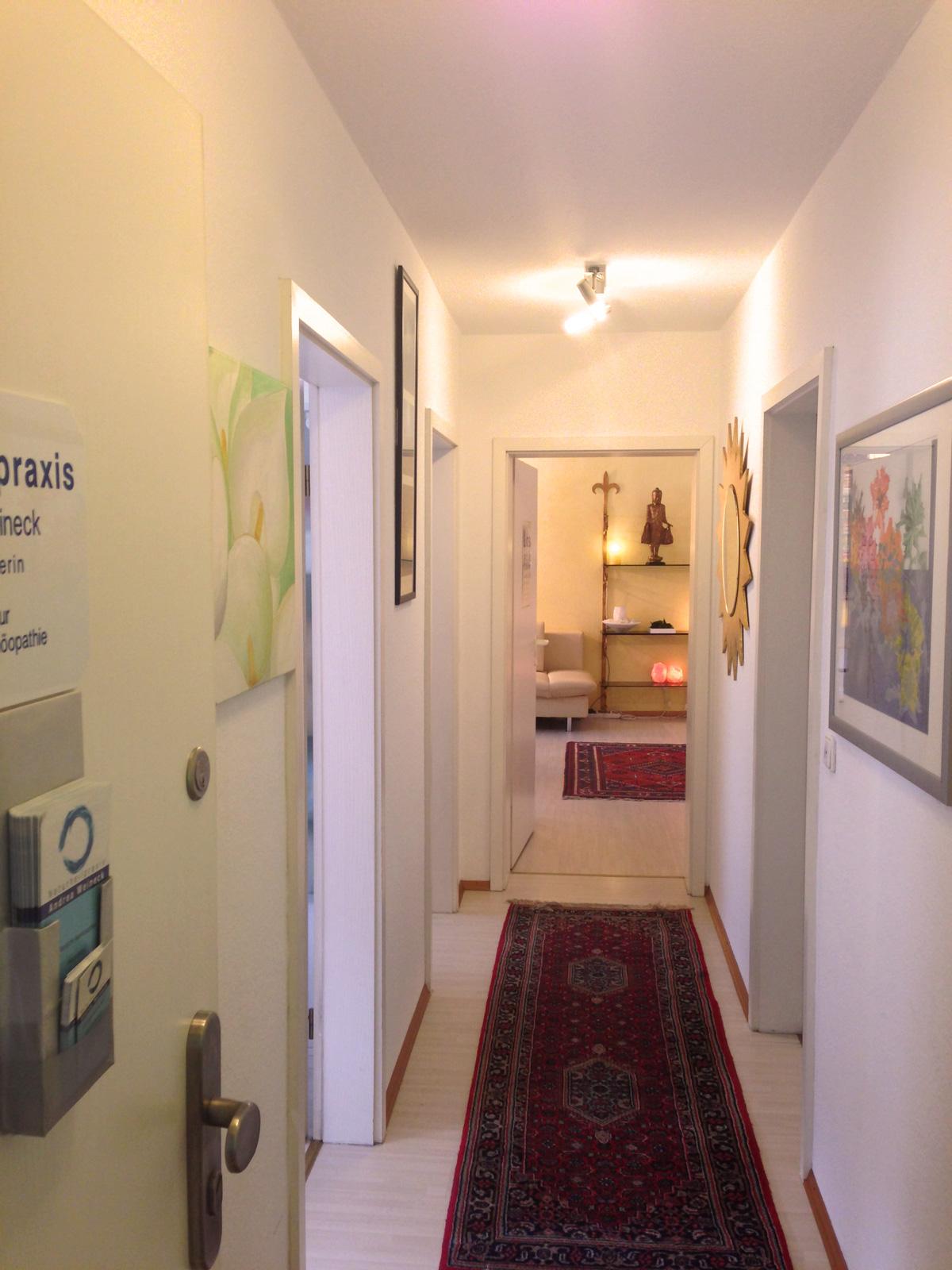 Andrea Weineck - Der Eingangsbereich