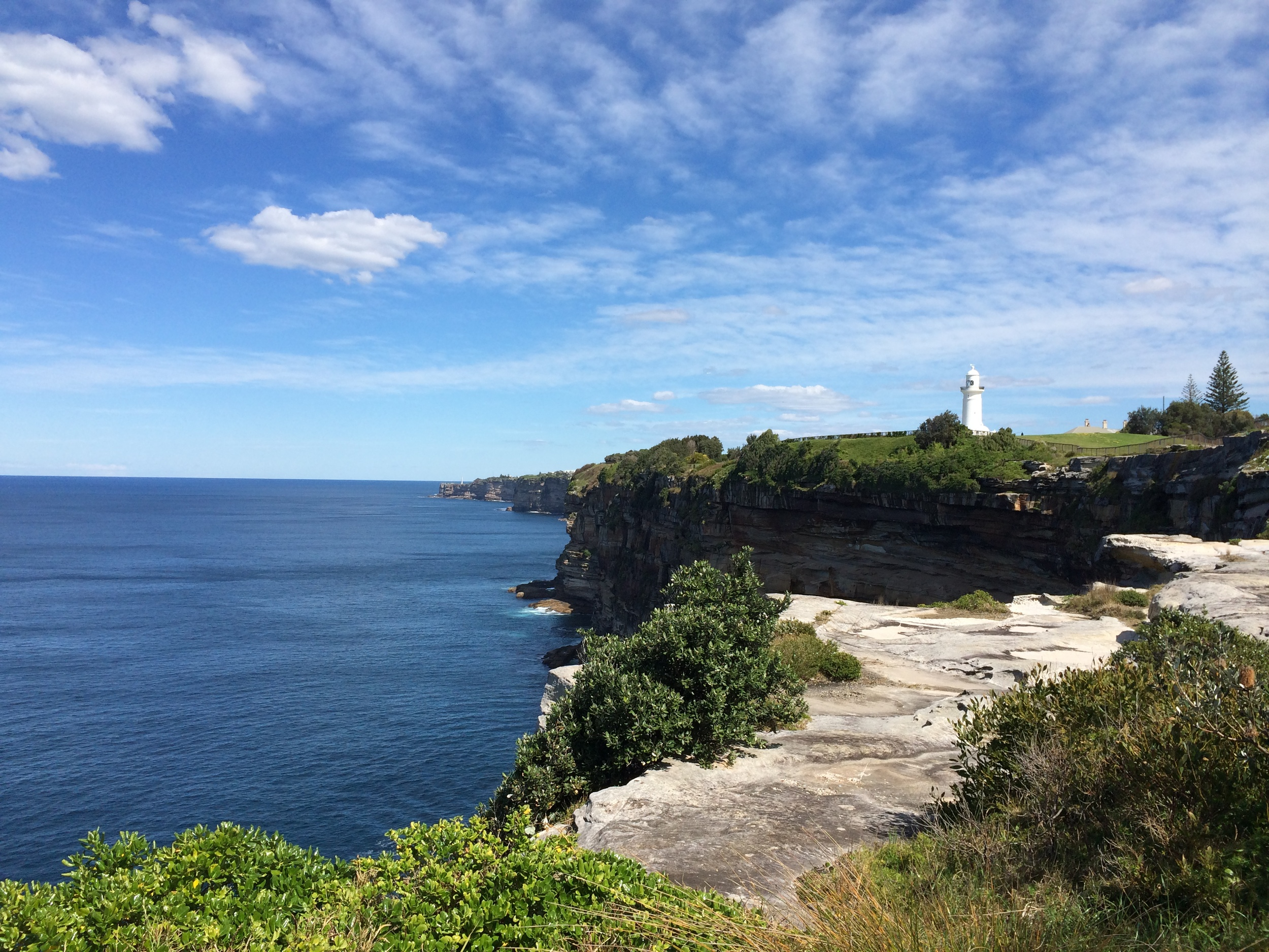 Macquarie Lighthouse, a setting in RG