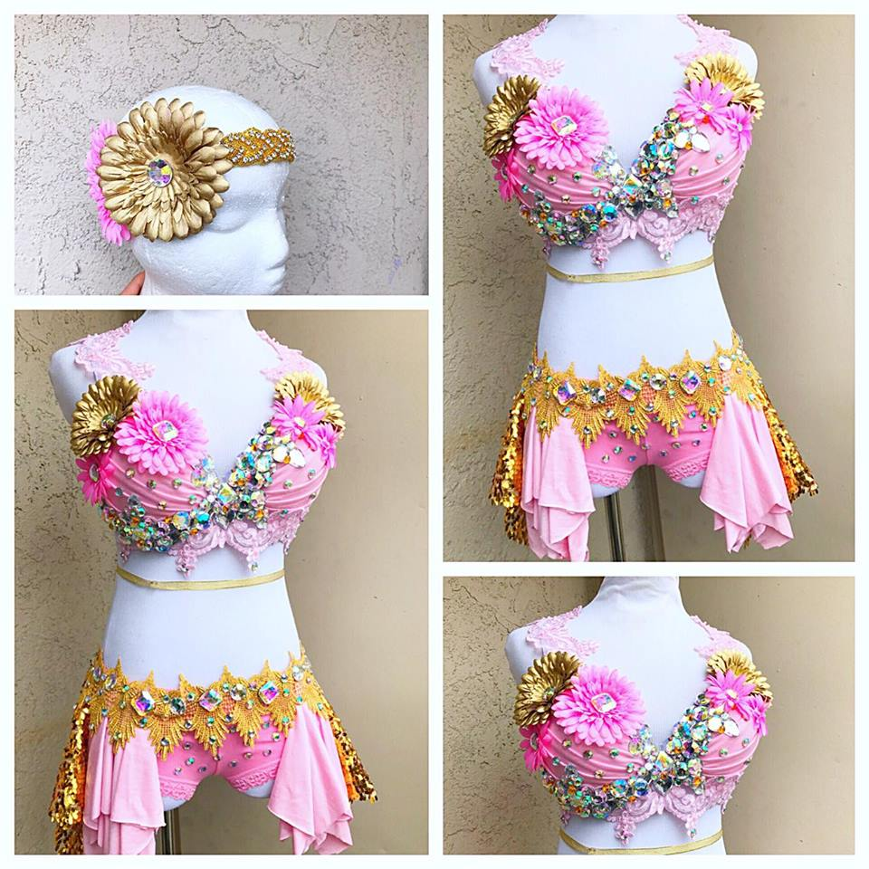 Daisy Rave Outfit