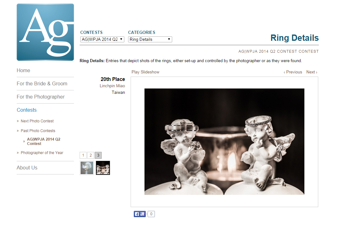 AG|WPJA 2014 Q2 20th: Ring Details