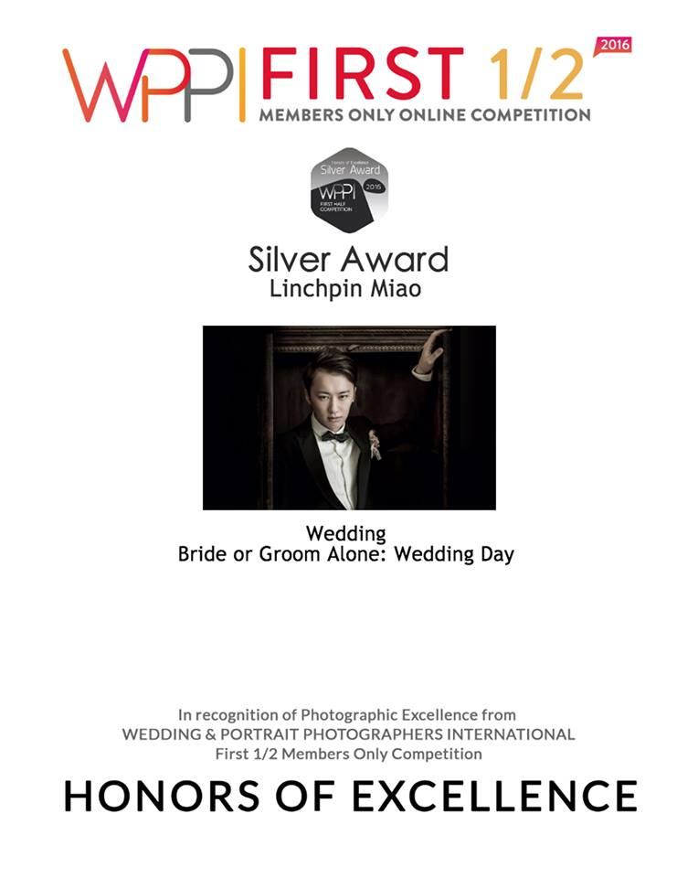 WPPI FIRST 1/2, 2016 : Bride or Groom Alone: Wedding Day