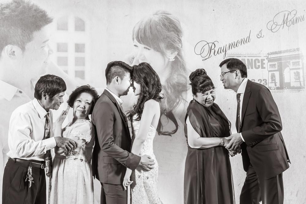 WEDDING: Raymond & Mimi