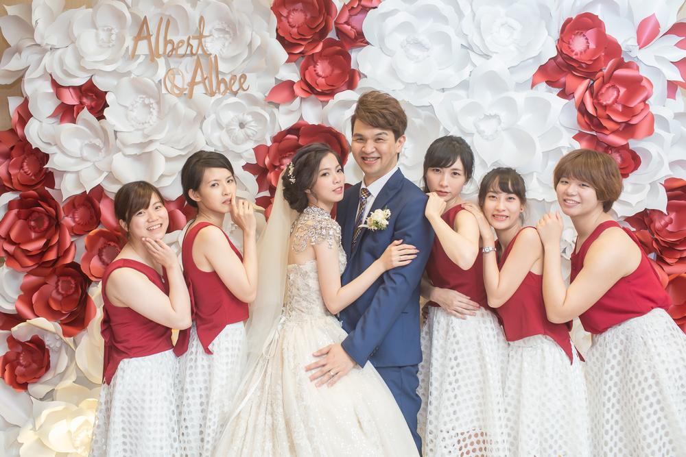 WEDDING: Albert & Albee