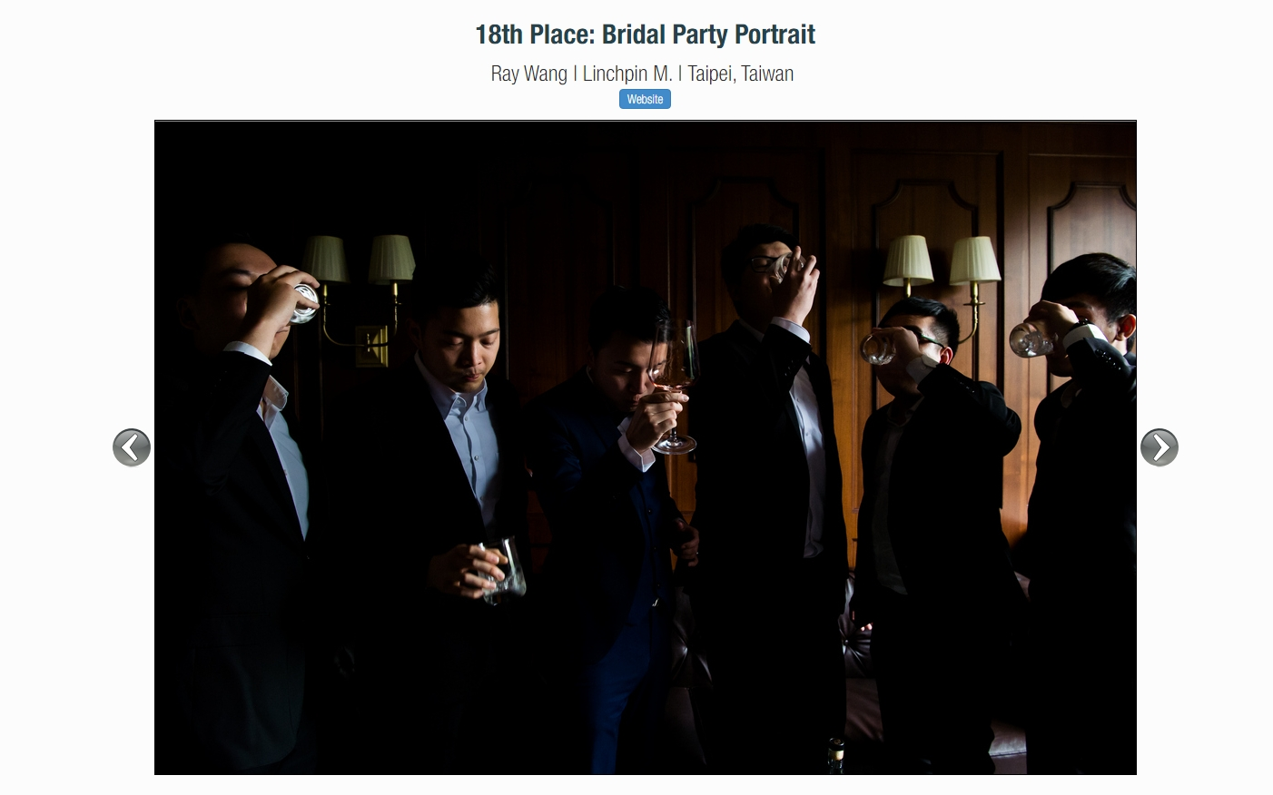 ISPWP Summer 2017 | 18th PLACE : BRIDAL PARTY PORTRAIT