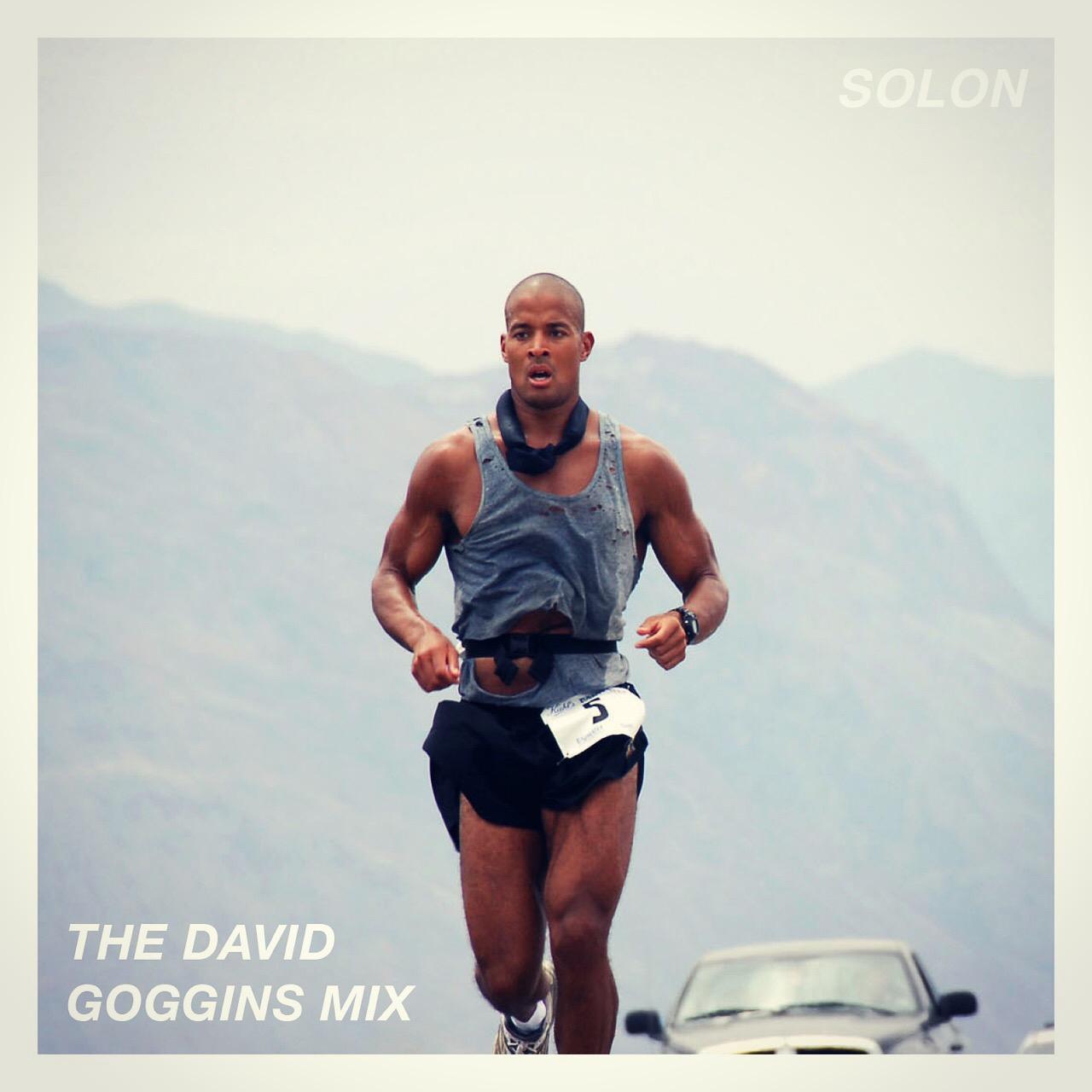 The David Goggins Mix - Album Art