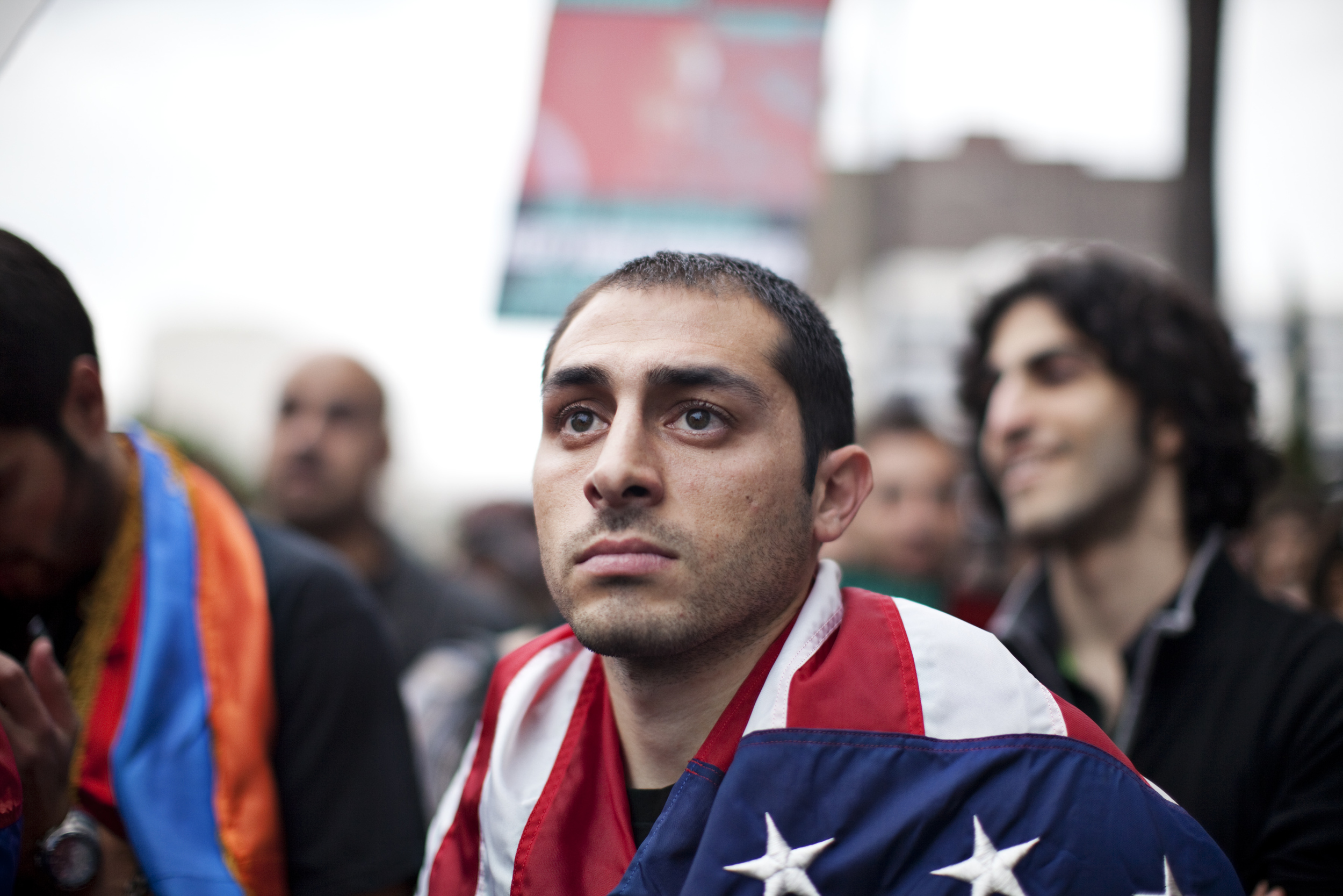 The following is aseriesfrom an April 24th commemoration, which took place in front of the Turkish consulate in Los Angeles.Turkey, the successor stateof the Ottoman Empire, has continuously denied the Genocide.