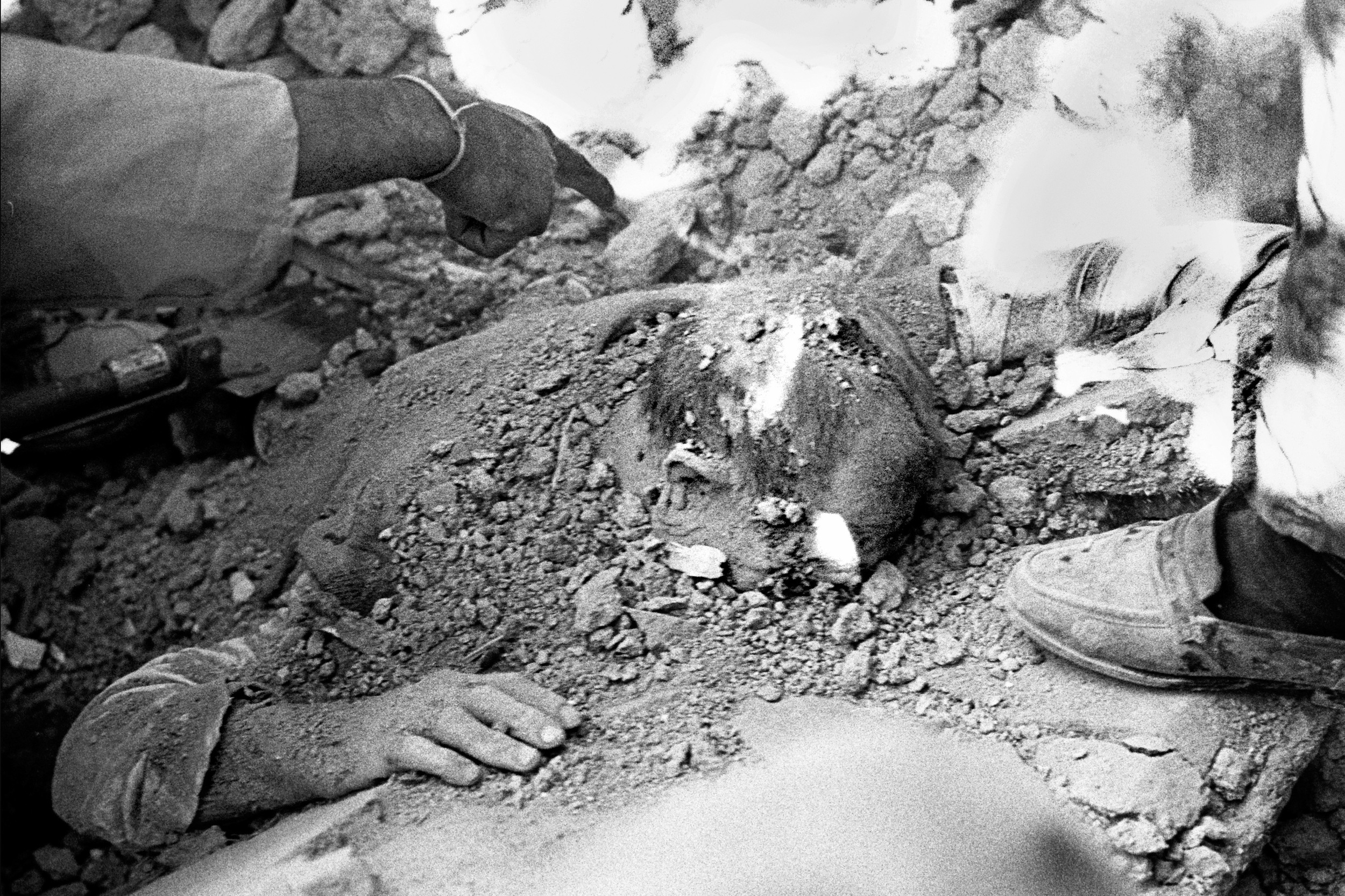 A region with mostly mud brick houses, dozens of villages were completely destroyed killing hundreds and devastating the lives of thousands.