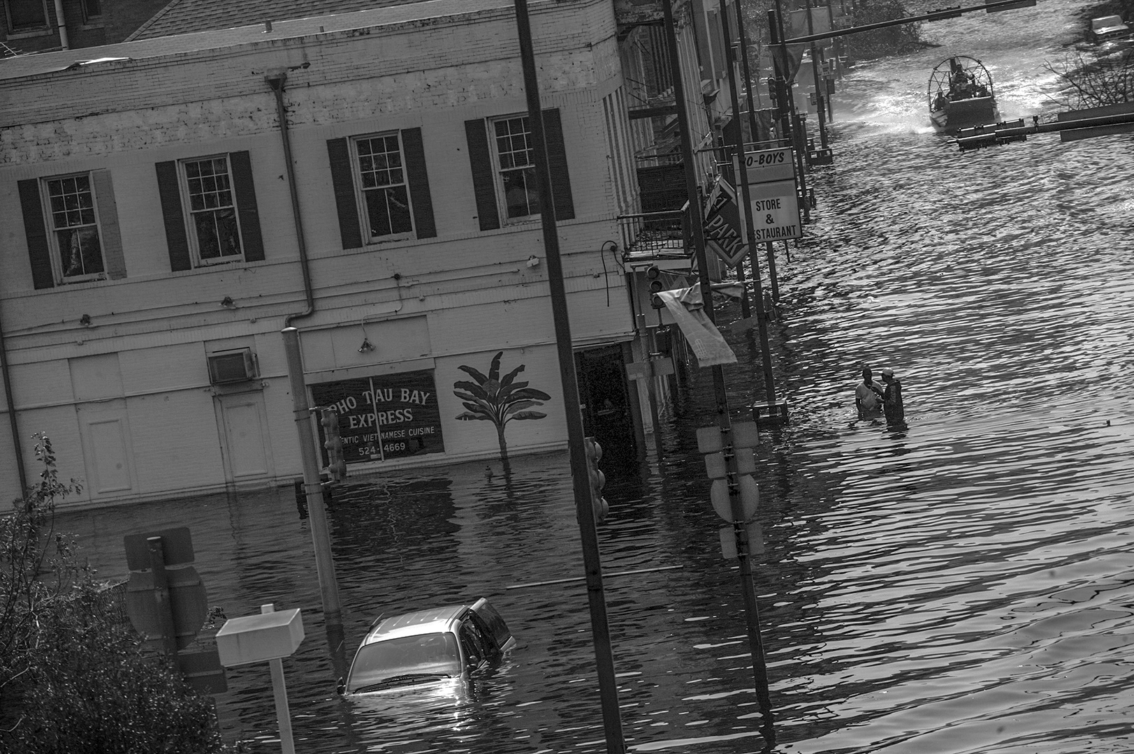 New Orleans, Louisiana  - Early In the morning on August 29, 2005 Hurricane Katrina made landfall in the Gulf Coast of the United States. With winds up to 140 mile per-hour the storm caused significant damage, however the failure of the levee system resulted in the heavy flooding and the loss of life which ensued.