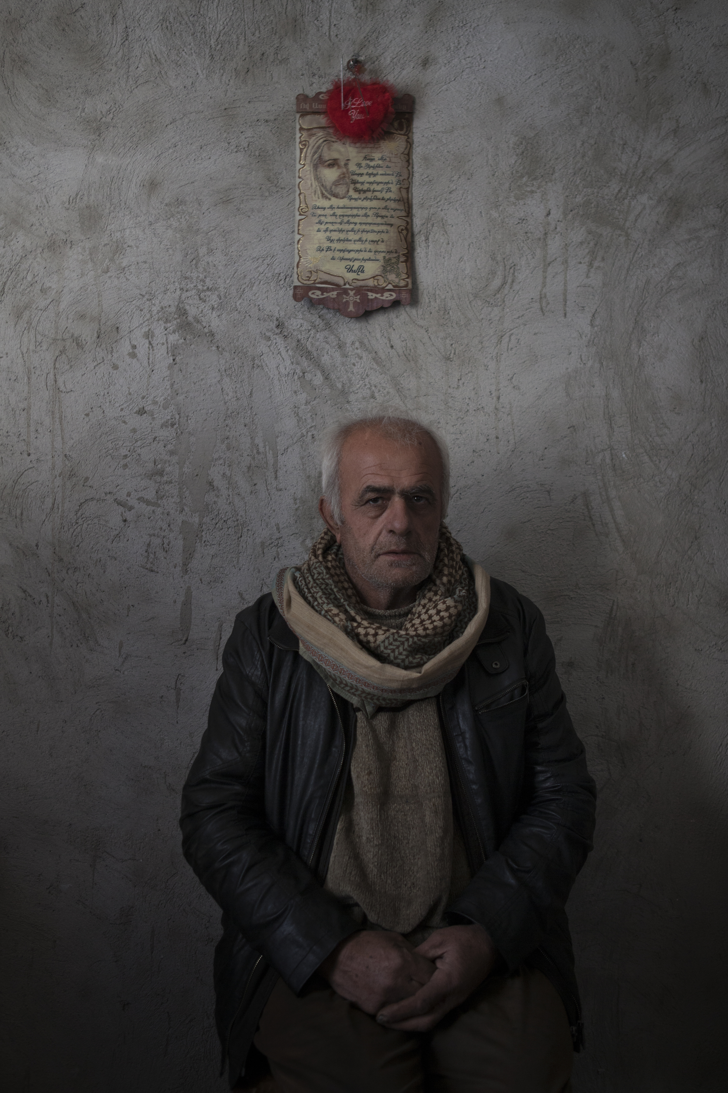 Jirair Donabedian is one of the original Syrian-Armenians to move to Nagorno- Karabakh,even before war broke out in Syria.