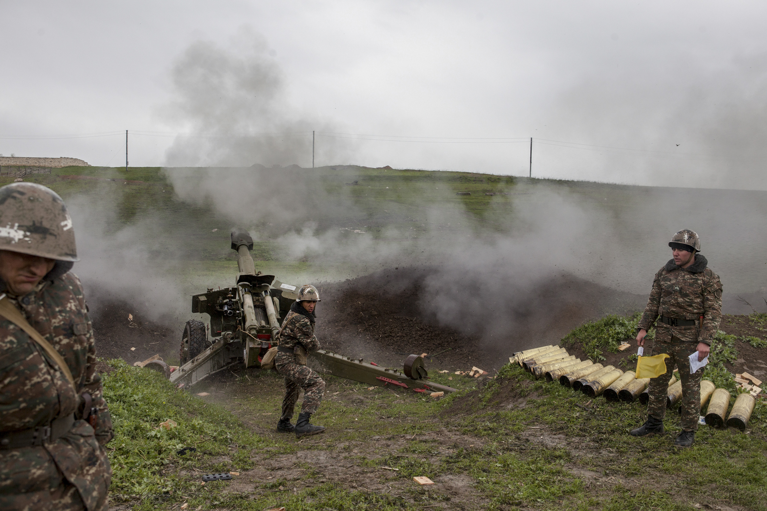 Nagorno-Karabakh is a landlocked mountainous region within Azerbajian populated and backed by neighboring Armenia. From 1988 to 1994 Azerbaijan and Armenia fought a bloody war, with more than 50,000 casualties, over the territory.
