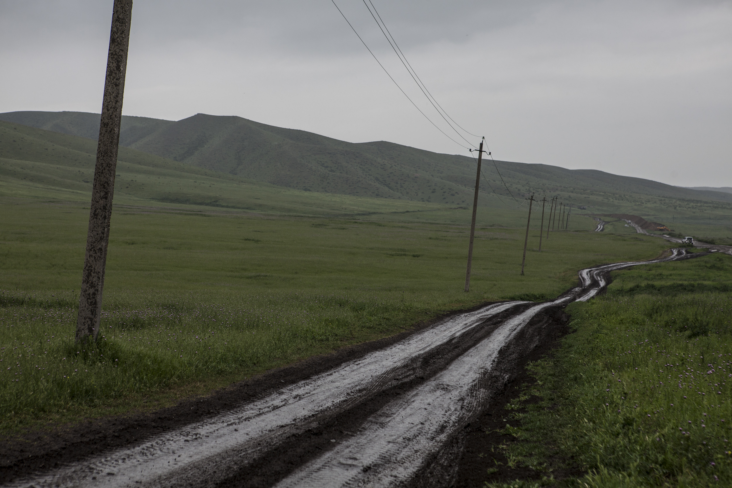 The remainder of this gallery are photographs from April 30; the northern borders of the Republic of Nagorno Karabakh where soldiers remain to protect.