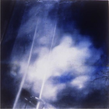 """Untitled (Kemmons Wilson's Dream, 4) , 1996 Encaustic on panel 12"""" sq.   private collection"""
