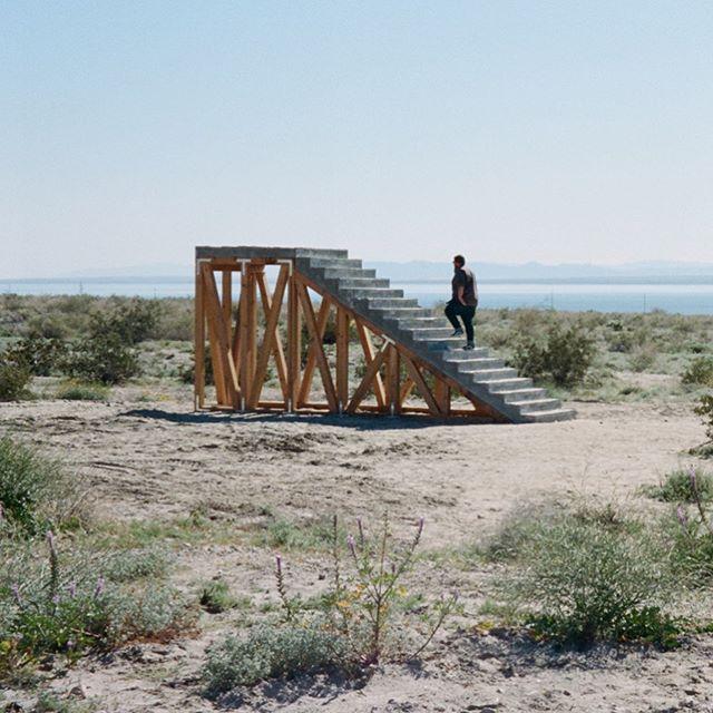 "Iván Argote, ""A Point Of View"" #35mm #film #desertx #installationart #saltonsea"