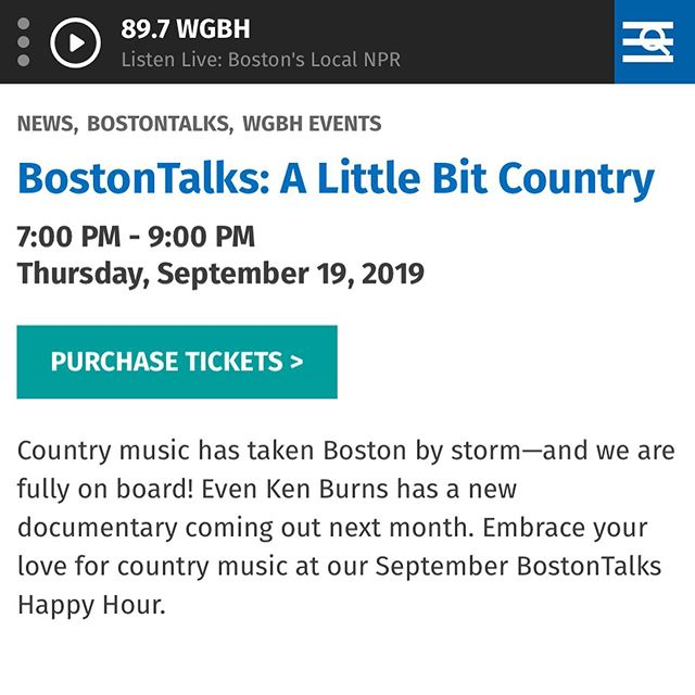 Come hang out and hear me speak at Boston Talks!  Link in bio...free entry with promo code APRIL :)