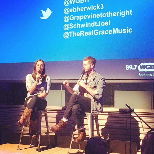 #BostonTalks was so much fun!  Thanks to @wgbh for giving me a chance to talk about my love of line dancing and the people I've met through it.  And of course thank you to everyone who came out to hear what I had to say!