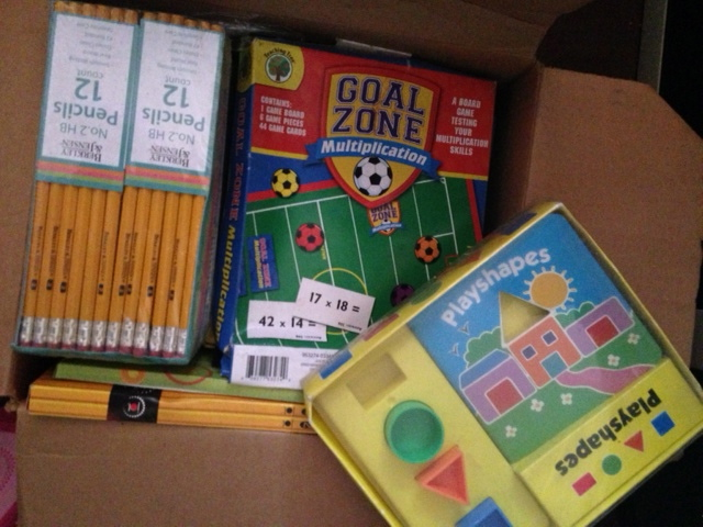 School supply for the Orphanage in Tanzania