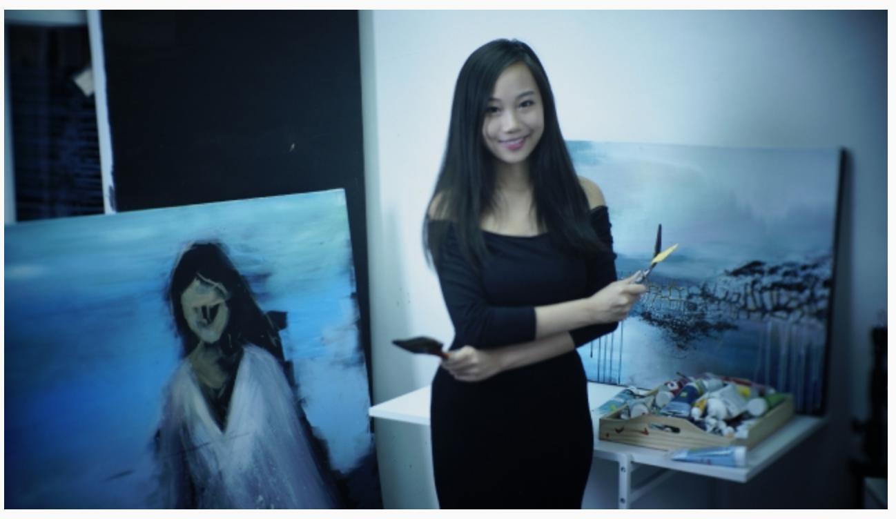 【藝術家不易當】參展過紐約藝博羅浮宮 20歲Liane Chu:香港幾百個藝術家 最後真係出名咪得一兩個