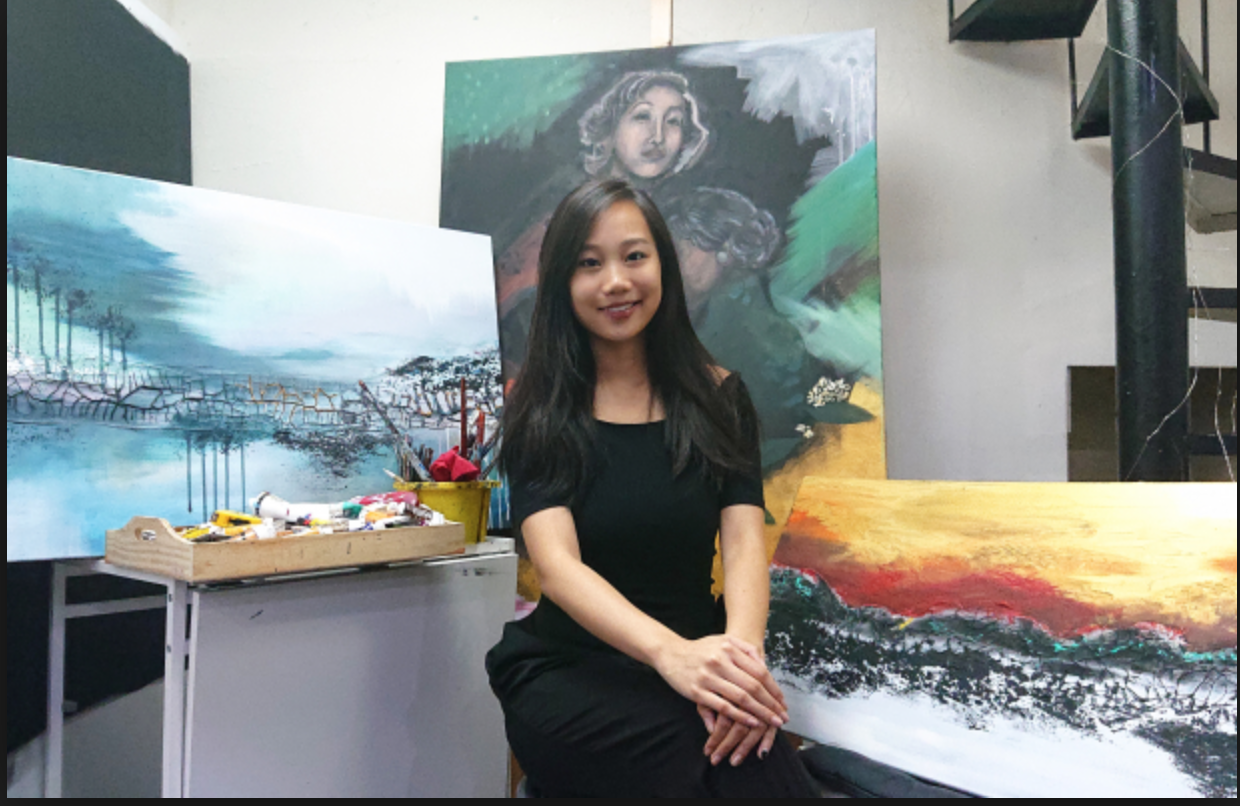 How living with Tourette's got easier for this HK artist when she learned to channel her creativity into stunning works of art
