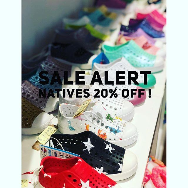 😍 Sale Alert! All natives 20% off! #summersale #natives #kidstyle #summerstyle #giftconcierge . . . . . #katonah #katonahchamber #bedford #bedfordny  #poundridge  #northsalemny #ridgefieldct #chappaqua #chappaquamoms #armonk @katonahchamber #armonkmoms #westchestermoms #coolmom #nycmom #914 #katonahlife