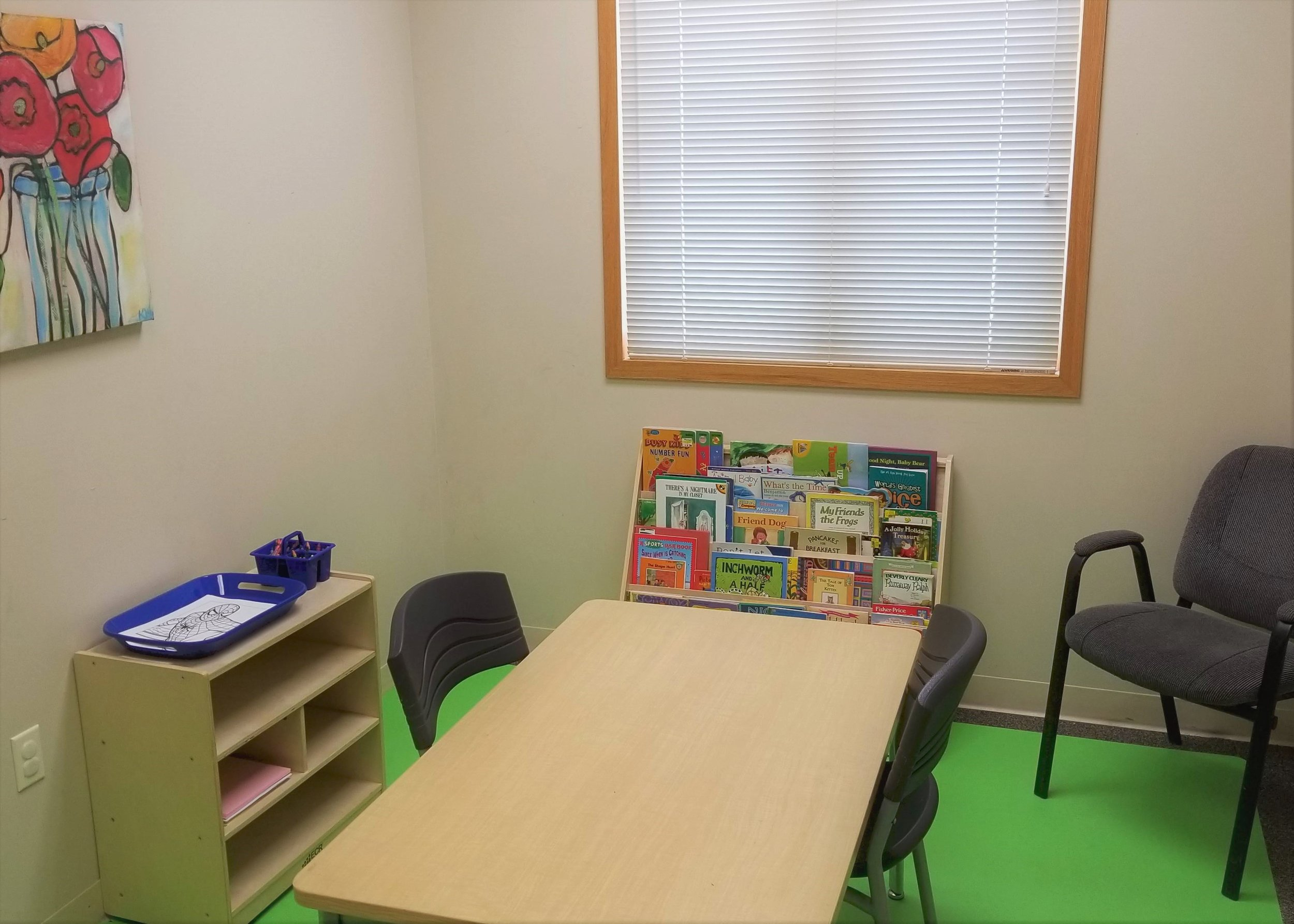 Plenty to do - Our family centers offer multiple activities in which you can interact with your loved ones. We provide toys, games, puzzles, art supplies, books and even smart televisions that can provide appropriate programming for you and your family.