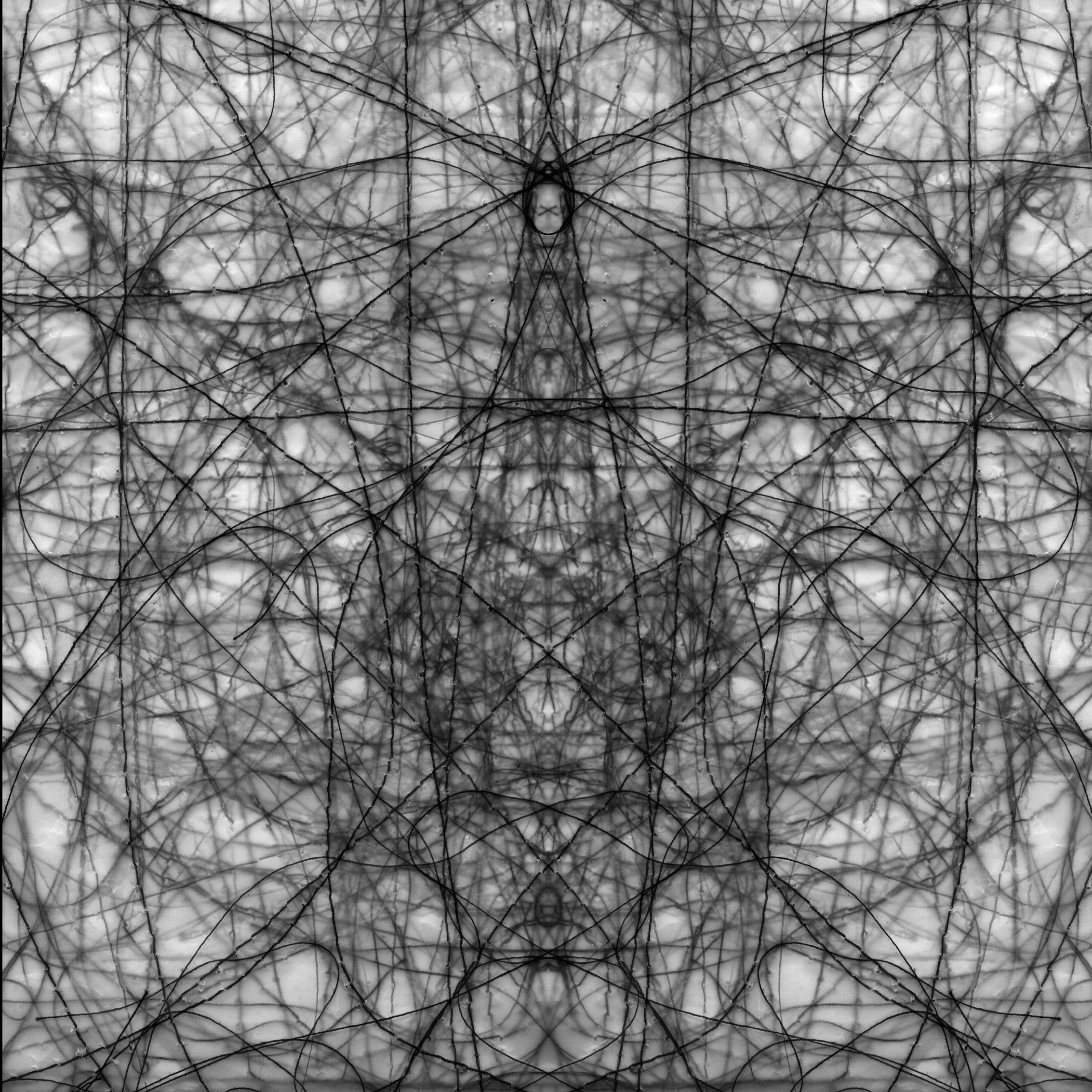 An Ordered Chaos #27 (Void 2), Archival Inkjet Print, 20 by 20 inches, 2016