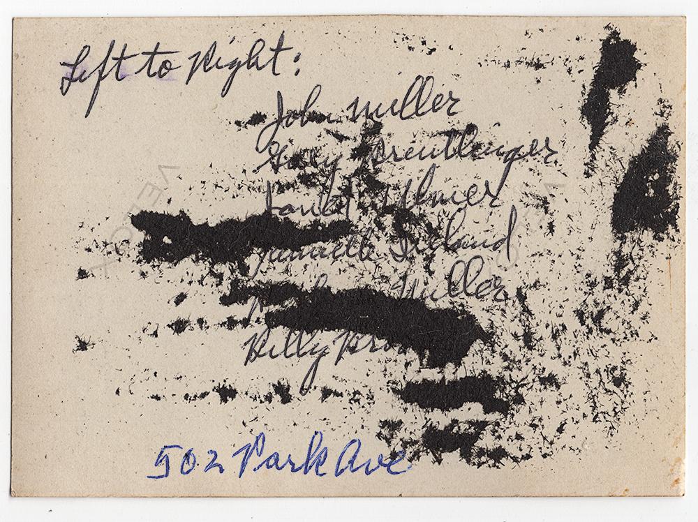 Left to Right: 502 Park Ave,  Archival Digital Inkjet Print, 2018