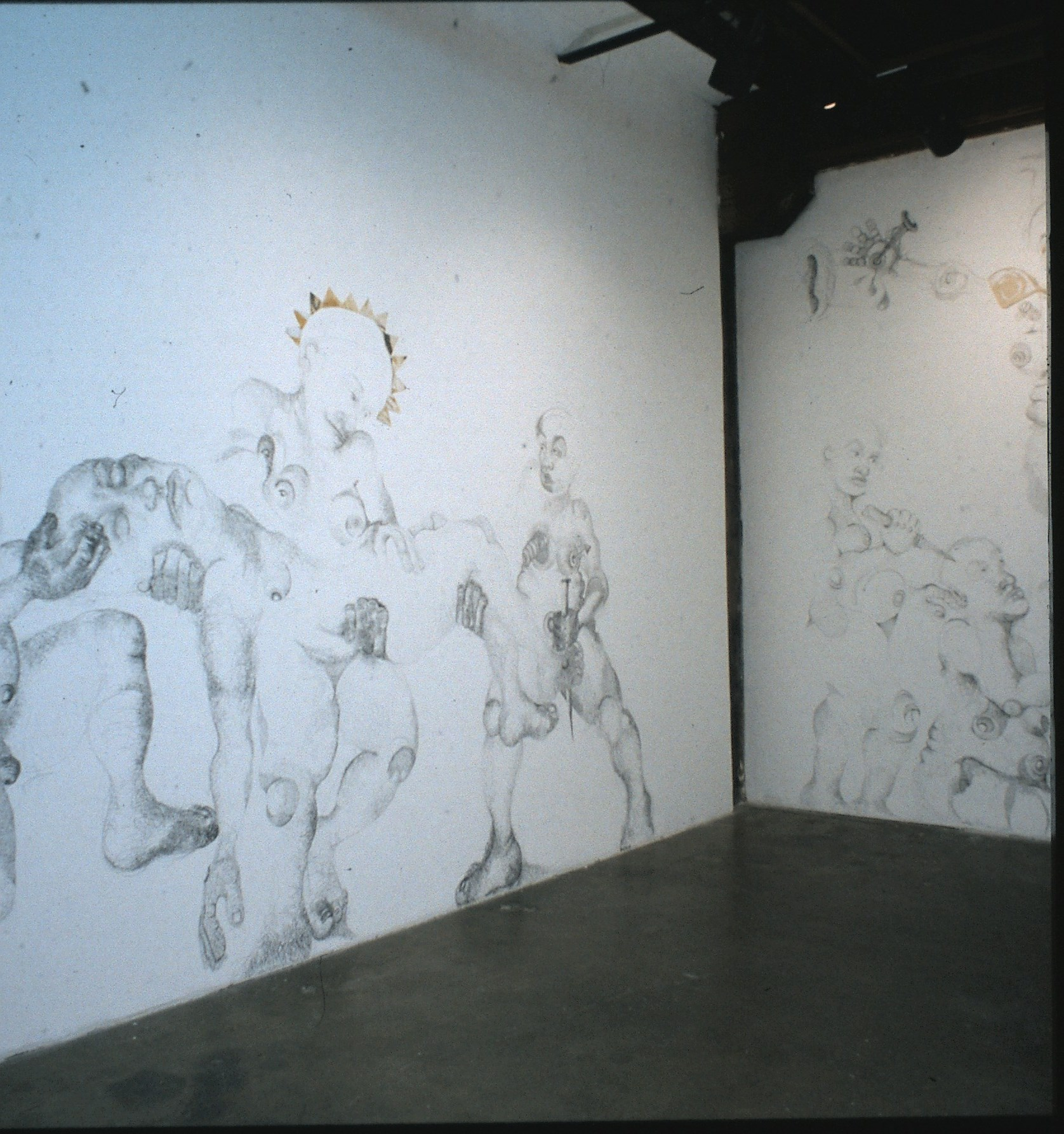 Installation image at 500X Gallery