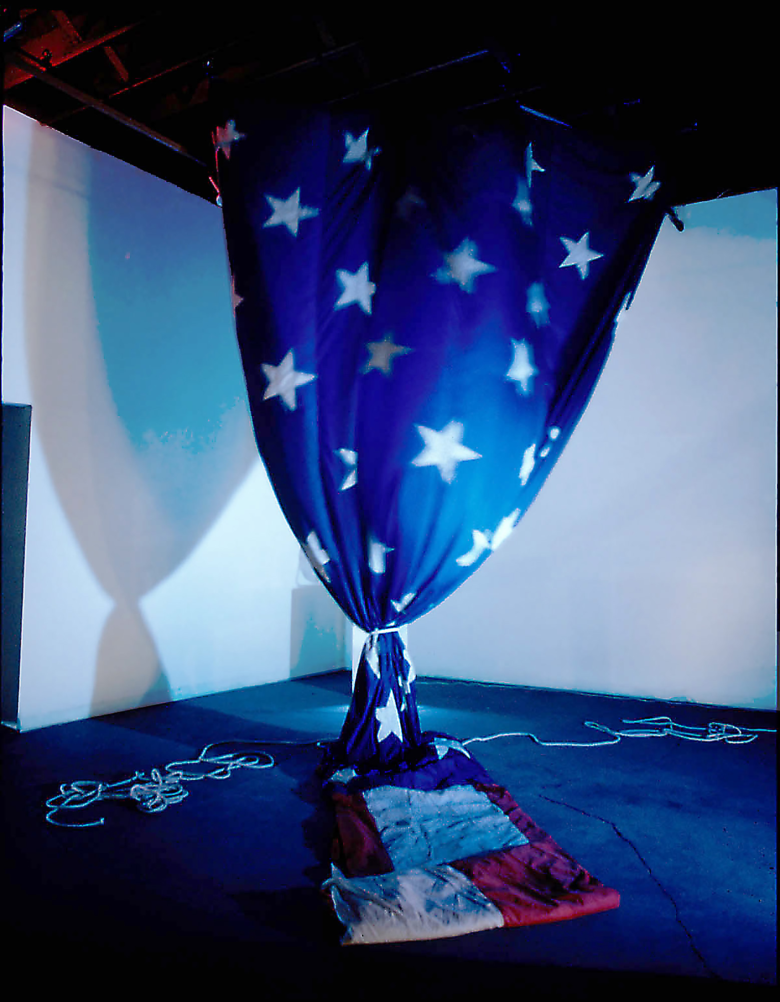 "Randall Garrett, ""Last Dance"" (1995), mixed media installation / 500X Gallery"