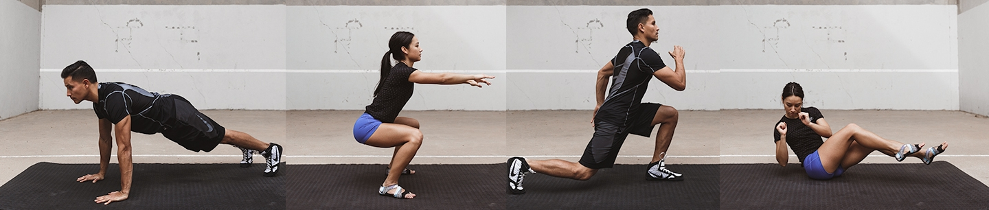 The 7 BASIC MOVEMENTS - Click here to learn more