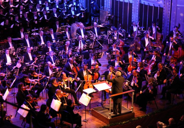 One of the longest and most revered holiday traditions in Northeast Ohio: The Cleveland Orchestra's Christmas Concerts. This year the popular programs will be led by associate conductor Brett Mitchell.(Photo by  The Plain Dealer )