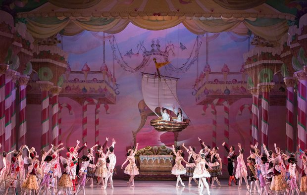 """On both sides of the Cleveland Orchestra-Pennsylvania Ballet production of Balanchine's """"The Nutcracker"""" coming to Playhouse Square this week, performers claim to be reveling in a holiday classic they say remains fresh.(Photo by Alexander Iziliaev)"""