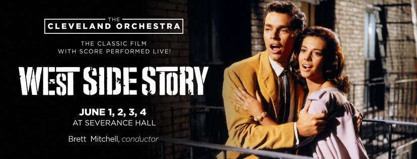 Brett Mitchell will lead The Cleveland Orchestra in four performances of  West Side Story to close their 2016-17 season.