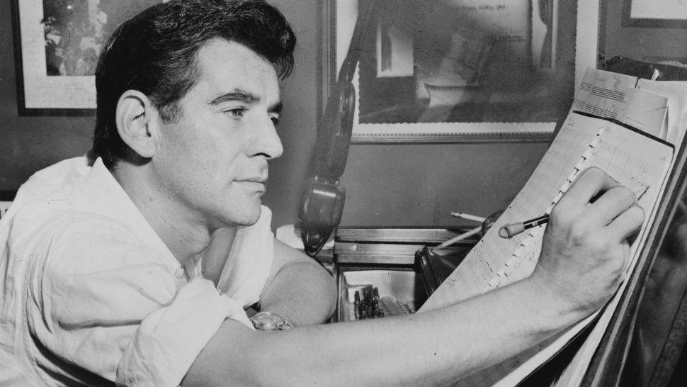 Brett Mitchell led the New Zealand Symphony Orchestra's centennial celebration of Leonard Bernstein.