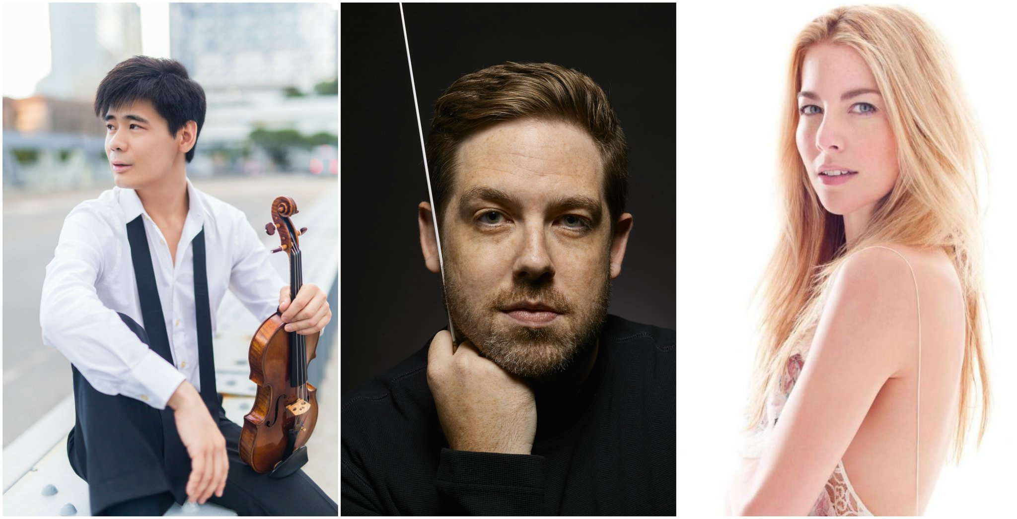 With the New Zealand Symphony Orchestra, Brett Mitchell presented an Italian program featuring violinist Angelo Xiang Yu and a  Bernstein at 100  celebration featuring vocalist Morgan James.