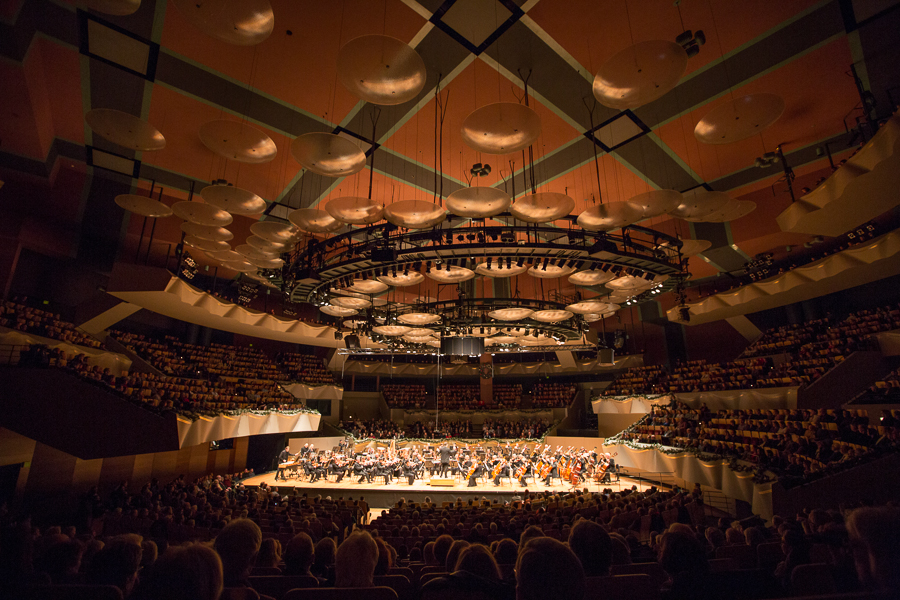 Music Director Brett Mitchell will lead the Colorado Symphony in a program of waltzes, marches, and polkas on New Year's Eve at Boettcher Concert Hall in Denver. (Photo by Brandon Marshall)