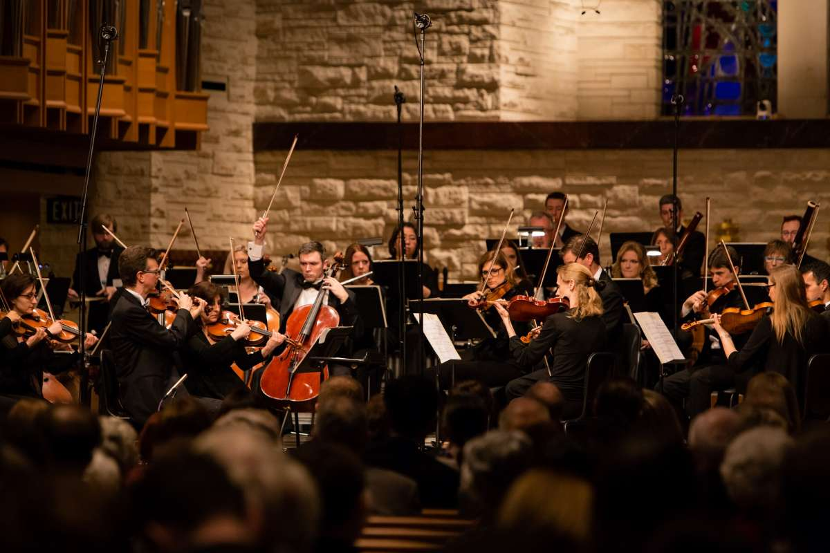 Brett Mitchell will lead the River Oaks Chamber Orchestra at St. John the Divine in Houston on Saturday, February 23.