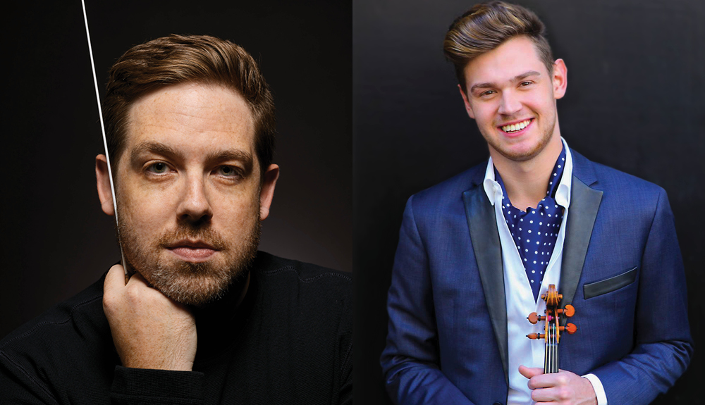 Brett Mitchell will make his debut with the San Francisco Symphony in July 2019 on a program featuring violinist Blake Pouliot.