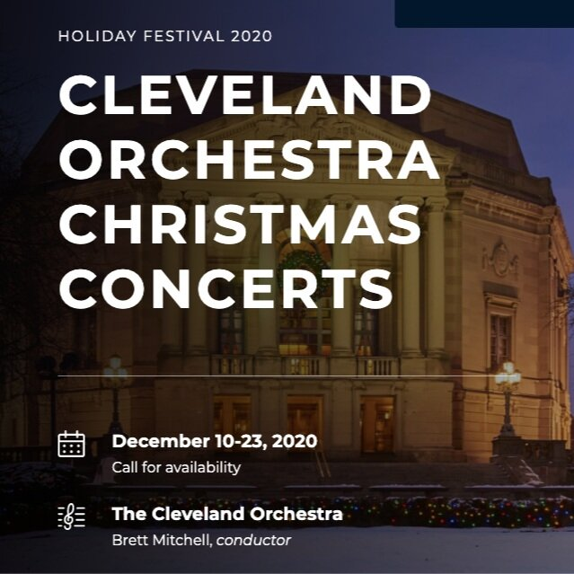 Preview Brett Mitchell Leads Cleveland Orchestra Christmas From The Podium And The Keyboard