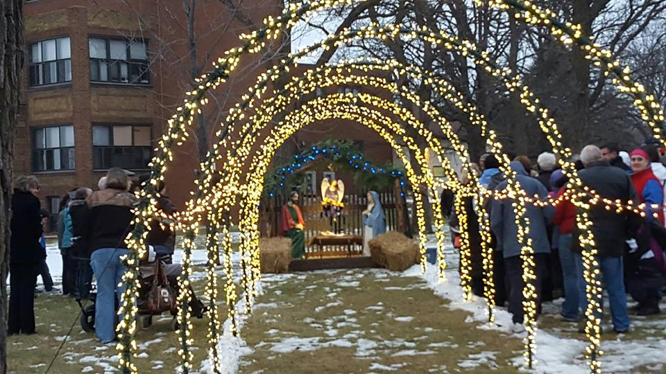 Wadena nativity's new location, via Alpha News