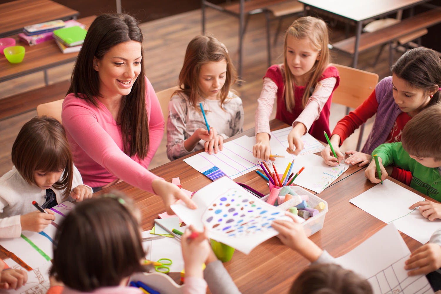 Children-Teacher-Smiling-Group-COMPASS for Courage.jpg