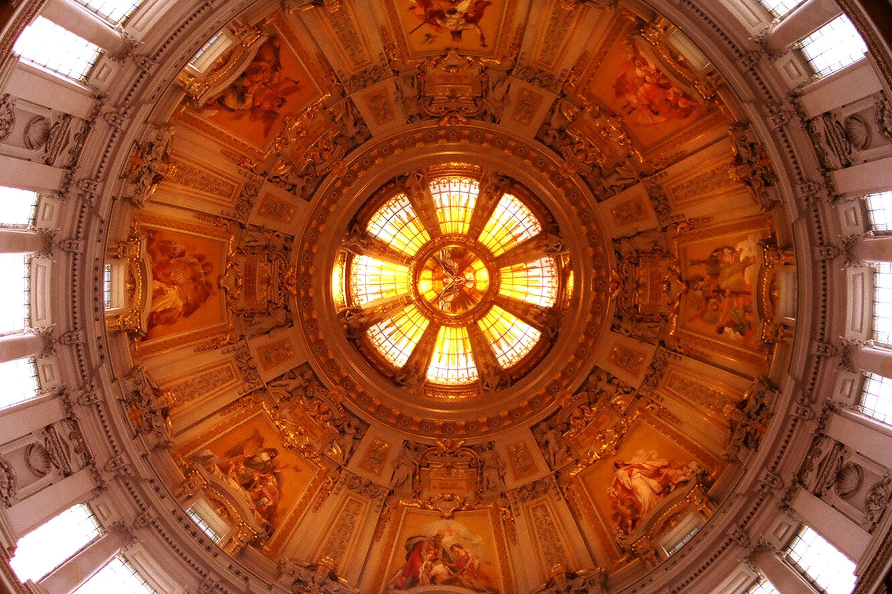 The dome of the Berlin Cathedral