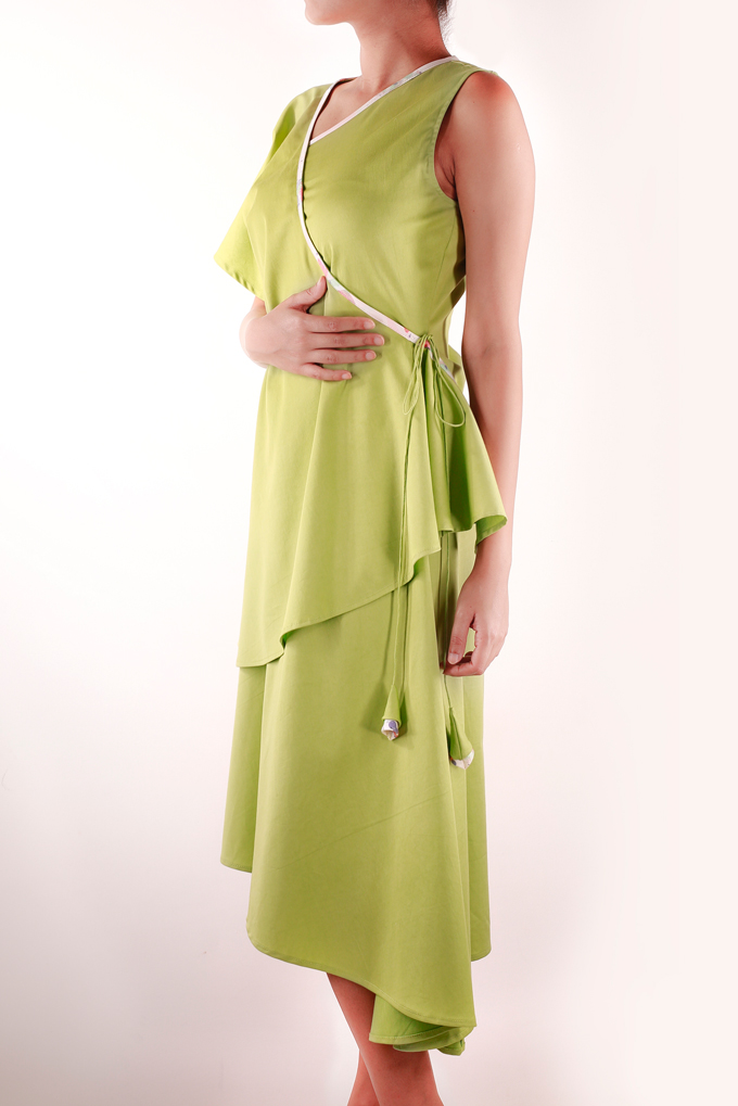 Wrap Around Dress Side