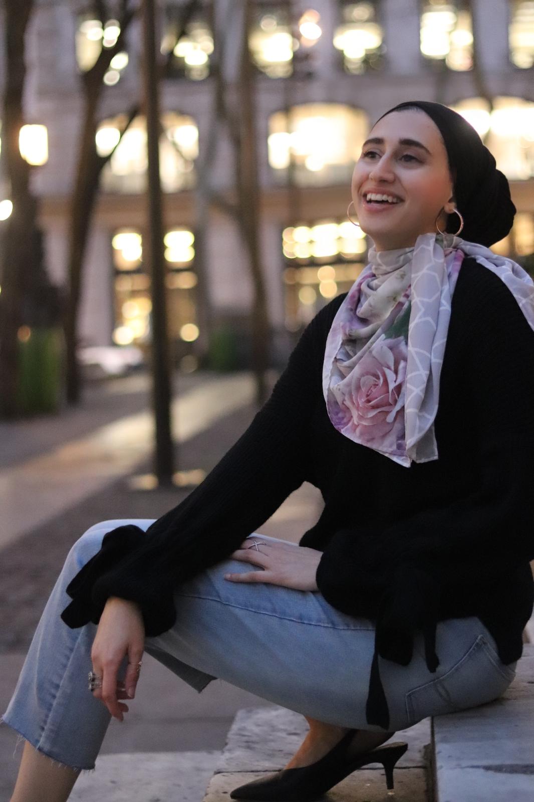 Winter NYC Street Modest Style - Karama by Hoda