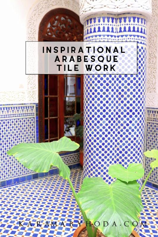inspirational Arabesque Tile work Modern Arabesque Moroccan Decor - Karama By Hoda