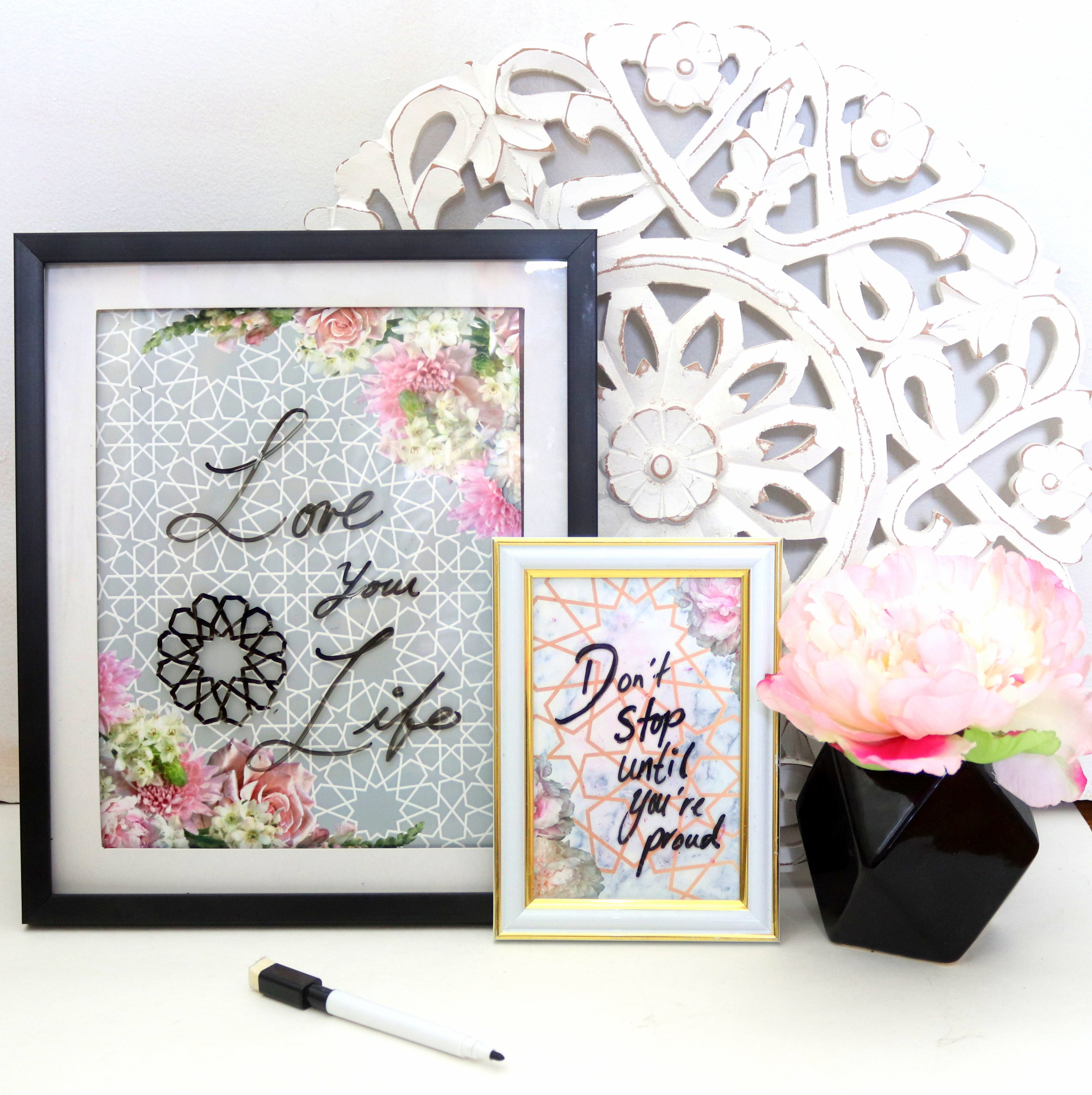 diy-inspirational wall art- karama by hoda
